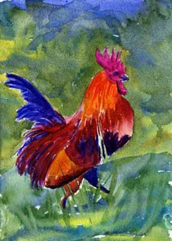 """Rooster"" DONATED"