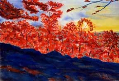 """Scarlet Evening"" DONATED"