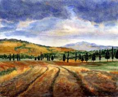 """Tuscan Landscape"" STOLEN"