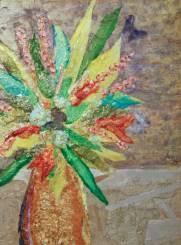 """Granny's Bouquet"" 15.5x11.5 $80"