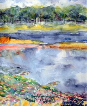 """Spring Lake II"" 12x9 100"