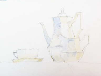 Still Life for Tea phase one