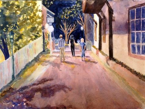 """""""Art Walking"""" 10x14 $100"""