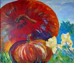"""Harvest Time"" acrylic"