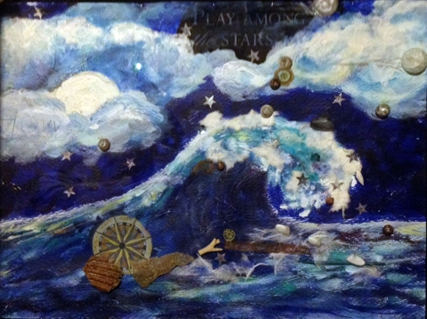 """The Ocean in You"" 12x16 $150"